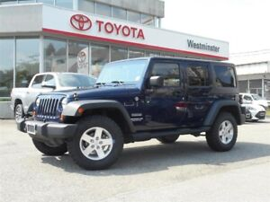 2013 Jeep Wrangler Unlimited Sport Edition