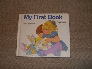 My First Book: My First Steps to Reading