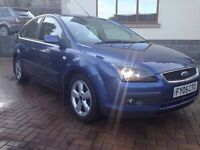 2005 Ford Focus Tdci Climate 105k F/S/H, 11 months mot, 6 speed gearbox