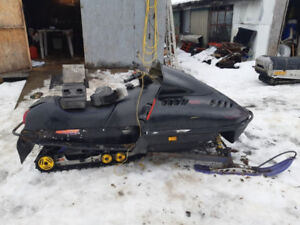 SkiDoo S, F and ZX Chassis parts