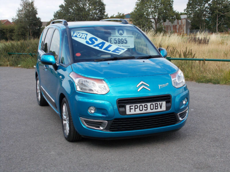 citroen c3 picasso 1 6hdi 8v 92bhp exclusive in. Black Bedroom Furniture Sets. Home Design Ideas