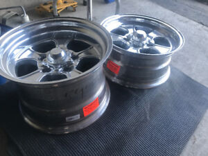 """15"""" American racing hopsters for c10s and c1500's. 5x5 !!"""