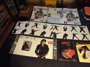 9 MICHAEL JACKSON COLLECTORS ITEMS PACKAGE DEAL/9 ITEMS!