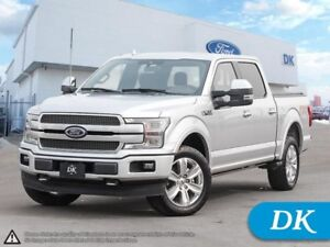 2018 Ford F-150 Platinum 4WD, Fully Loaded **Qualifies for 0% an