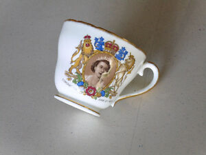 Queen's Coronation Tea Cup