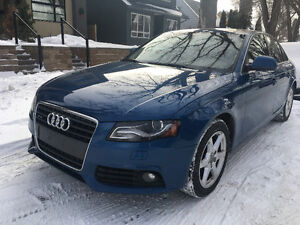 2009 Audi A4 Sedan 2.0t quattro REDUCED