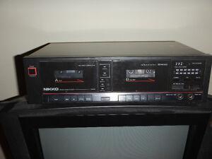 dual cassette deck Kitchener / Waterloo Kitchener Area image 1