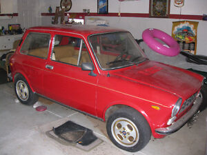 1973 Fiat Autobianchi A112  Imported from Italy