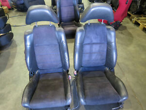 JDM 97-01 Honda Prelude Type S OEM Front Leather Seats H22A