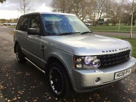 Land Rover Range Rover TDV8 Vogue SE Good / Bad Credit Car Finance (silver) 2008
