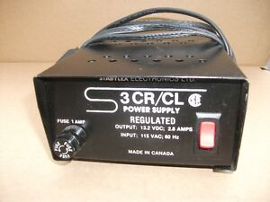 Stabylex 3CR/CL 12v power supply