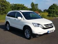 Honda Cr-v I-dtec Es 1 Owner Pearl White