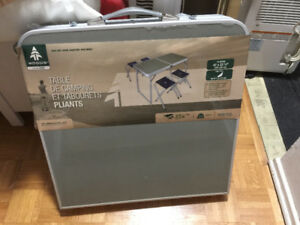 FS: picnic portable table/chair set, a must have for the summer