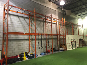 WAREHOUSE FRAMES AND BEAMS FOR SALE