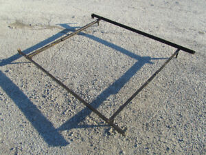 Metal Bed Frame with no wheels / Fits Single, Double & Queen $40