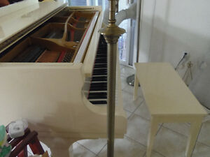 Ivory Baby Grand Piano - IN TIME FOR CHRISTMAS
