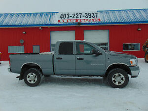 "2006 DODGE 2500 QUAD SHORT BOX 4X4 "" ACCIDENT FREE"""