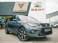 2021 SEAT ARONA HATCHBACK SPECIAL EDITION 1.0 TSI 110 FR Red Edition 5dr SUV Pet