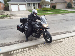 Suzuki Vstrom 650 XA, ABS, EXP, fully OEM LOADED FOR ADVENTURE.