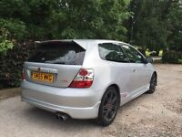 Honda Civic Type R facelift replica 2005 55 plate