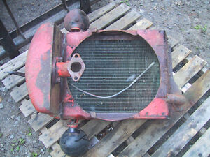Antique CASE tractor grill and rad assy Kawartha Lakes Peterborough Area image 3
