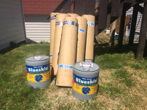 Blueskin with primer