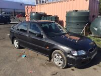 HONDA CIVIC SELLING COMPLETE CAR FOR PARTS