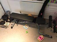 Gym bench - £90