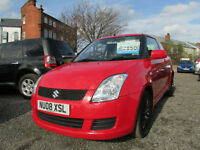 Suzuki Swift GL a red 3 Door petrol hatchback