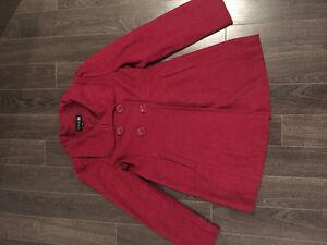 Red Forever 21 Coat