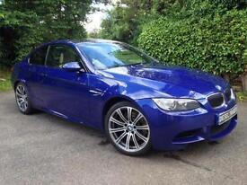 2009 09 BMW M3 4.0 V8 M DCT INTERLAGOS BLUE COUPE