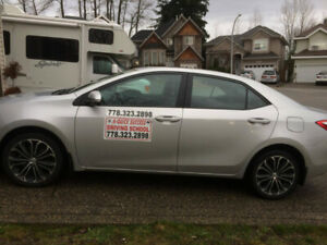 LOW COST DRIVING LESSONS/ CAR RENTAL FOR ROAD TEST-GREAT SERVICE