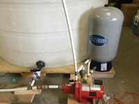 Awesome Buy - Pressure Tank & Pump