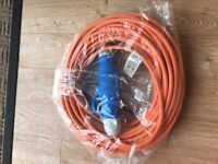 25 metre 240 volts electric hook up cable