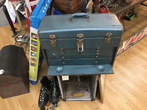 Vintage Machinists tool chest