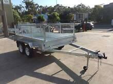 10x5 HotDippedGal Weld Tandem CageTrailer ElectricBrake HerveyBay Pialba Fraser Coast Preview