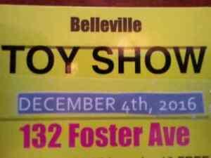 Dec 4th Belleville TOYSHOW 10-4pm
