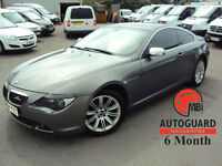 2004 BMW 645Ci 4.4 AUTO GREY PETROL CAR