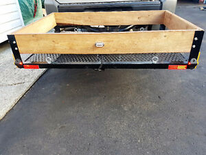 Custom Cargo Carriers for Snow Blowers, Lawn mowers, Camping