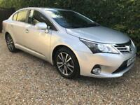 TOYOTA AVENSIS D-4D ICON Silver Manual Diesel, 2014 64 Plate