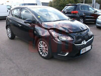 2015 Vauxhall Corsa 1.4i Auto SE DAMAGED REPAIRABLE SALVAGE