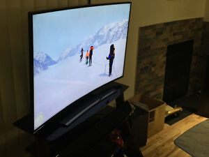 Samsung 4K UHD Curved TV For Sale