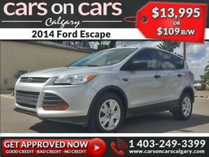2014 Ford Escape w/BackUp Cam $109 B/W INSTANT APPROVAL, DRIVE H