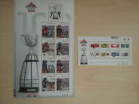 Two Sets of CFL 100th Grey Cup Stamps