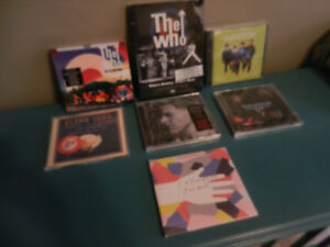 Classic Rock Sealed DVDs,CDs,Cassettes Gord Downie,Who ETc.