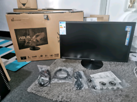 Asus VP28UQG 4K gaming monitor. VGC ps4/5, XB. Boxed with cables