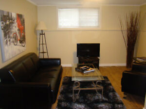 BEAUTIFUL FULLY FURNISHED 2 BEDROOM SUITE IN LAKEVIEW HEIGHTS