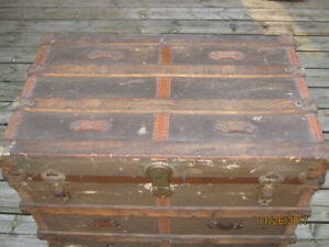 Antique Steamer Trunk from the 1800s