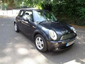 MINI COOPER 3DR HATCHBACK 1.6 PETROL BLACK, FULL SERVICE HISTORY, HPI CHECK!!