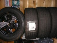 """Set of 4 New!!! 18"""" Pirelli tires Snow + Ice ( Make me an offer)"""
